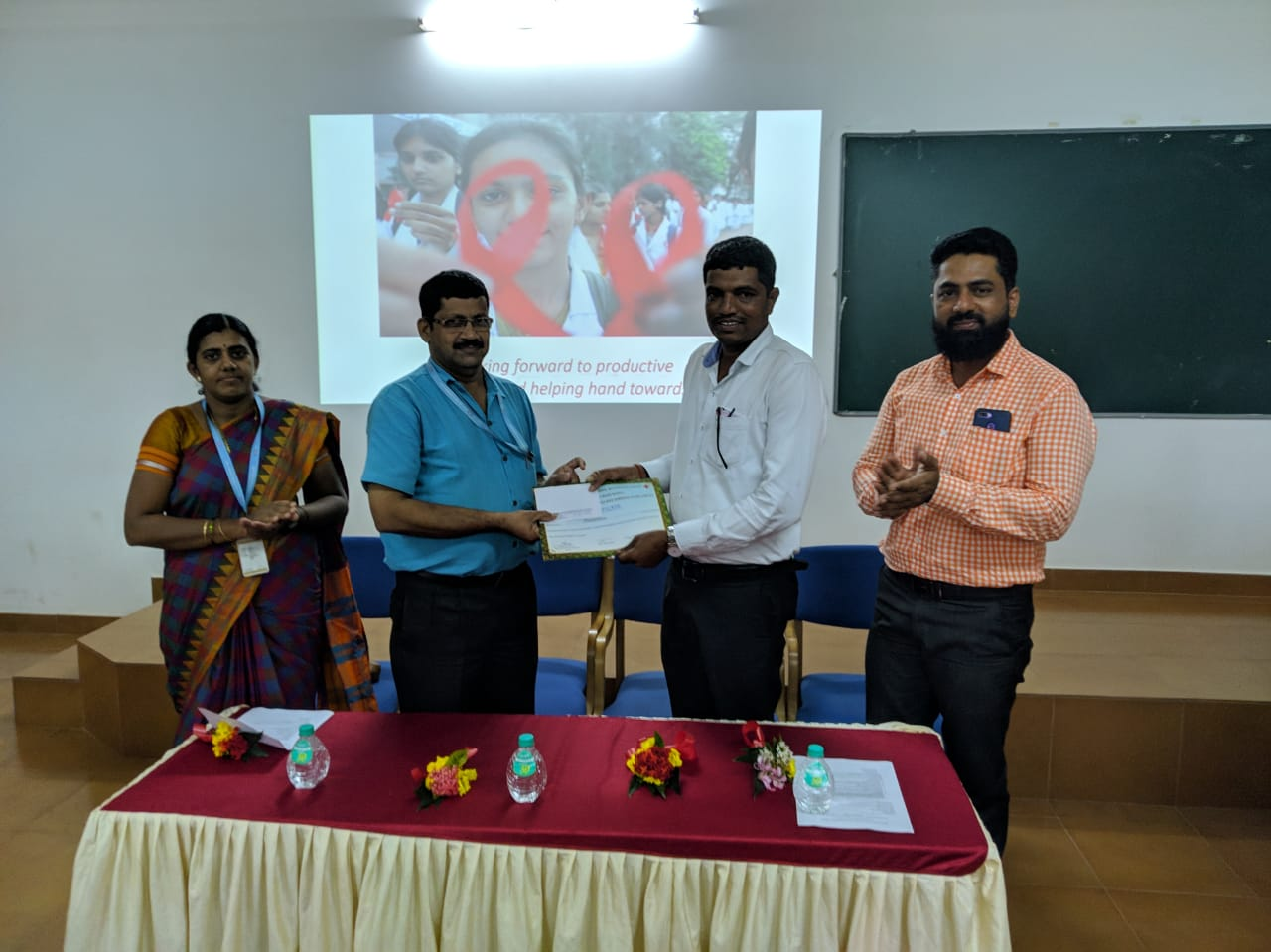 Guest lecture on AIDS Awareness
